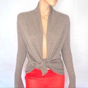 Max Studio • 100% Cashmere Cardigan Duster Sweater